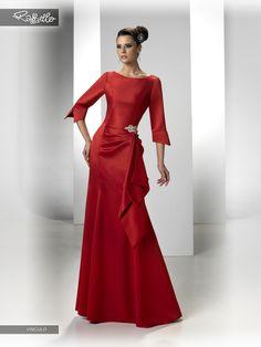 VINCULO (Vestido de Fiesta). Diseñador: Raffaello. ...