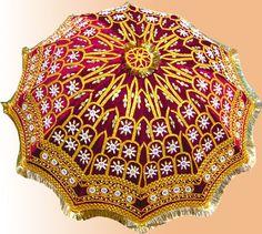 pearl umbrella - India wedding umbrella