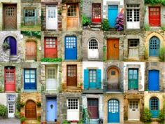Doors connect spaces and regulate the flow of energies in a building. These 5 feng shui tips will change how you think about the doors in your home forever. You are in the right place about feng shui Residential Windows, Gazebos, Urbane Kunst, Cool Doors, French Property, Closed Doors, How To Antique Wood, Antique Doors, Doorway