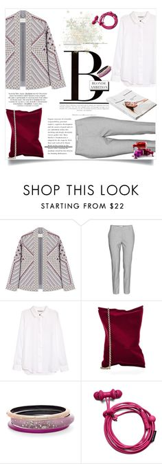 """Untitled #2881"" by kristina-biskup ❤ liked on Polyvore featuring BCBGMAXAZRIA, H&M, Anya Hindmarch, Morgan, American Apparel and Alexis Bittar"