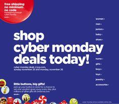 J.C. Penney's Cyber Monday Deals