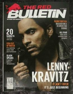 THE RED BULLETIN Magazine OCTOBER 2014 ON THE COVER: Musician Lenny Kravitz