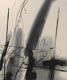 Mark-Making, 2012. Oil on canvas.  Lee Kaloidis