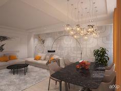 Дизайн квартиры в Симферополе от студии Kucherenko Design.   Дизайн интерьера квартиры в Симферополе от студии Kucherenko Design - фотография 283358