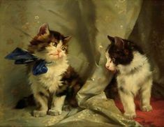 Julius Adam II (1852-1913, German) - THE GREAT CAT | THE GREAT CAT