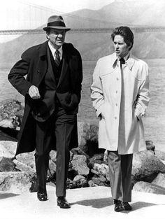 Karl Malden and Michael Douglas from television show 'Streets of San Francisco' _ 1972 Best Tv Shows, Favorite Tv Shows, Movies And Tv Shows, Karl Malden, 1970s Tv Shows, Tv Detectives, Cop Show, Vintage Tv, Vintage Postcards
