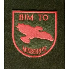 Aim to Misbehave Serenity Sew on Patch