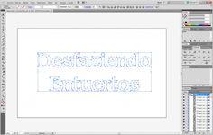 ¿Sabías que puedes trazar textos en #Photoshop? Y además puedes pasar los #vectores a #Illustrator