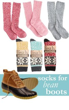 With #boot #season in full swing, it's time to think about what kind of socks you will be wearing.