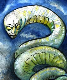 Ilomba- African myth: a sea serpent creature that is provided to a person by a witch doctor. It would assume the face of its new owner. Usually, it's used to attack the person's rival or enemy. If it is killed, the owner is killed,  and vice-versa.