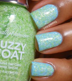 Enamel Girl: Sally Hansen Fuzzy Coat and Sugar Coat Summer 2013 Collection Swatches and Review