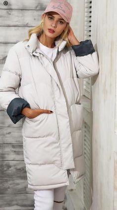 Parka Style Winter Coat  Women scoats Jackets For Women 3fd482f140