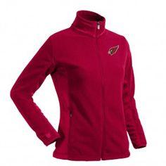 Arizona Cardinals 101 Holiday Gift Ideas: Arizona Cardinals Ladies 'Sleet' Polar Jacket $76.00