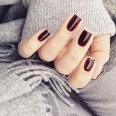 OPI Guys & Galaxies - deep oxblood red jellyish crème nail polish / lacquer @lackfein
