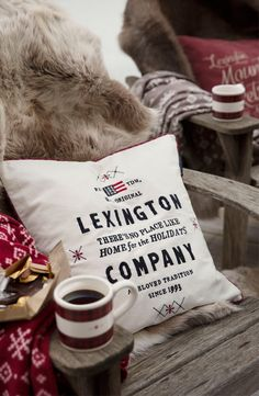 Winter Wonderland with Lexington Holiday Collection 2015!