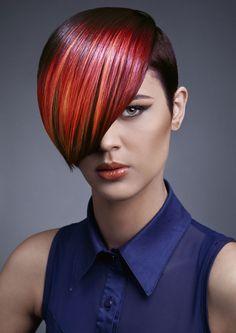 Polychromatic by The Art of Hair Team  Modern Salon .com slideshow