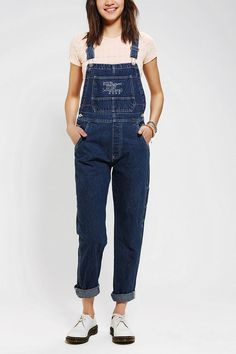 Urban Renewal Tapered Overall #urbanoutfitters