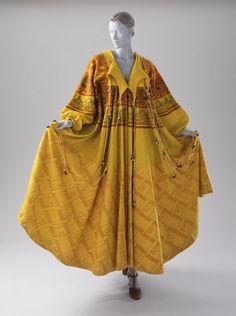 Woman's 'Butterfly Coat'  Zandra Rhodes (England, London, born 1940, England, Kent, Chatham) England, circa 1969