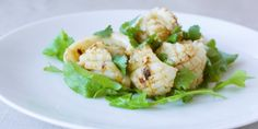 Spicy chilli, ginger and garlic squid