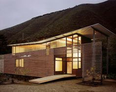 Bixby Canyon House / Fougeron Architecture / Estados Unidos #architecture