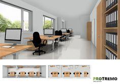 #Büroplanung #Büroraumplanung #Büromöbel #PROTREMO