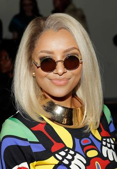 Kat Graham: Kat Graham trimmed her long hair into a neat lob in early 2013, changing it up with a platinum color, too.