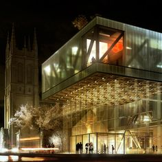 The Office for Metropolitan Architecture (OMA), has won the competition for a major expansion to the Musée national des beaux-arts du Québec (MNBAQ). The 12,000m2 new building, a cascade of three overlapping boxes at the juncture of downtown Quebec City and the historic Battlefields Park, will be OMA's first built project in Canada.
