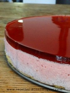 Bavarian strawberry recipe with thermomix: excellent Crazy Cakes, Easy Cake Recipes, Dessert Recipes, Bavarois Recipe, Dessert Thermomix, Bavarian Recipes, Desserts Ostern, Best Cheese, Sweets