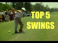 Sara Brown beautiful golf swing with key move. Face on - YouTube
