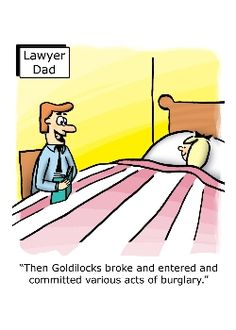 """Once she broke the line of curtilage she was officially trespassing. Goodnight!"" www.costnerlawfirm.com"