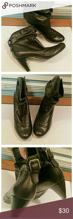 """BCBGGeneration black ankle boots In brand new condition. Leather with 2""""  heels. BCBGeneration Shoes Ankle Boots & Booties"""