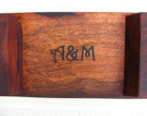 Custom Listing for tylerkosiba1 Custom Engraving for our Natural Edge Salvaged Mesquite Wood Serving Tray / Cutting Boards
