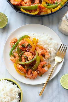 Got 15 minutes? Make this high protein, low carb Kung Pao Shrimp for an epic combination of flavors and delicious healthy meal.