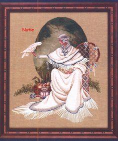 Spiritdancer - 1/9 Solo Patrones Punto Cruz (pág. 248) | Aprender manualidades es facilisimo.com