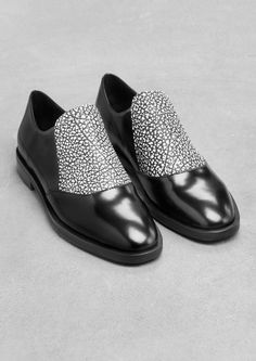 & Other Stories   Leather Flats.