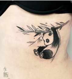 Ms Kudu panda tattoo