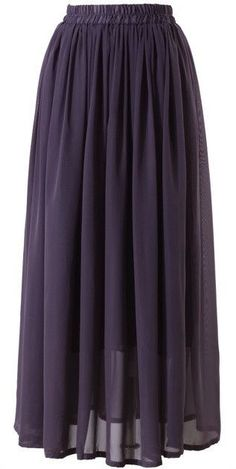 Conservative Modest full length maxi skirt lavandar purple | Mode-sty tznius fashion style hijab muslim islamic mormon lds jewish christian no slit