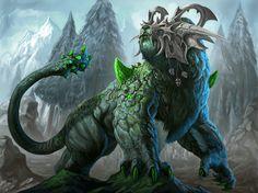 Fantasy Creature Claws Ro-Kashh Wallpaper