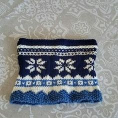 knitting free pattern scarf cowl knitted with needle