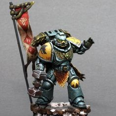 Eugene (@pax_acrylica) • Instagram-foto's en -video's Wolf Time, Space Wolves, Warhammer 40k Miniatures, Fantasy Miniatures, Mini Paintings, Space Marine, Marines, Tips, Model