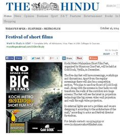Short film fest at Kochi