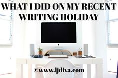 It was the final writing holiday for there is only three after all, but here's what I did every day. Managed to get TKW stories written and some typed up. Holiday Writing, My Last, I Am The One, School Holidays, Business Style, About Me Blog, Paperback Books, Third, Diva