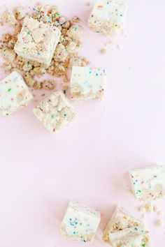 Party Food / Funfetti Fudge / Recipe