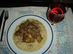 Αρνί λεμονάτο Greek Recipes, Grains, Food And Drink, Rice, Beef, Chicken, Meat, Greek Food Recipes, Seeds