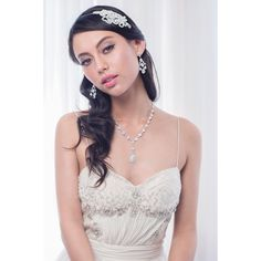 Caden Bridal Headband – Roman & French