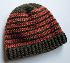 Ravelry: Project Gallery for Crocheted Ribbed Hat Pattern pattern by Cindy RecycleCindy