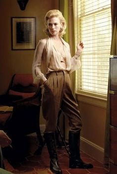 ...who wouldn't want a riding outfit like betty draper???
