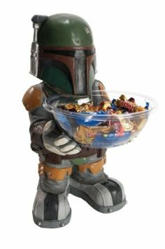 Star Wars Boba Fett Candy Holder @Joseph Reyes
