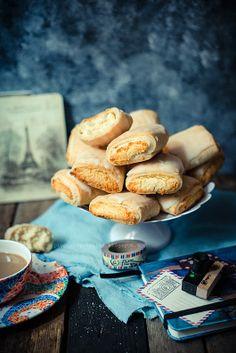 Kokosowe ciasteczka - serniczki w cieście krucho-serowym