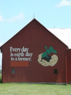 Tales from our 1864 farmhouse. the adventures and everyday happenings on a small farm in the Midwest. Country Barns, Country Life, Country Roads, Country Living, Meadows Farms, Migrant Worker, Barn Art, Barns Sheds, Farm Barn